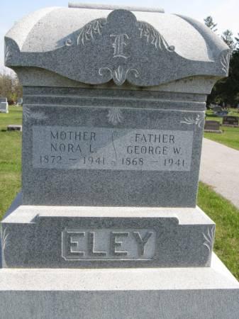 ELEY, GEORGE W - Story County, Iowa | GEORGE W ELEY