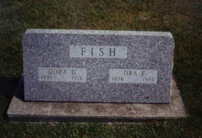 DICKINSON FISH, DORA DALE - Story County, Iowa | DORA DALE DICKINSON FISH
