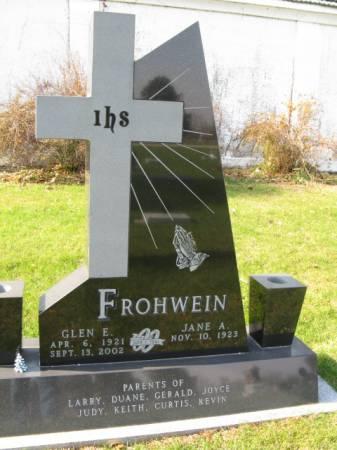 FROHWEIN, GLEN E - Story County, Iowa | GLEN E FROHWEIN