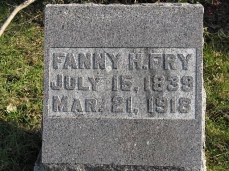 FRY, FANNIE H - Story County, Iowa | FANNIE H FRY