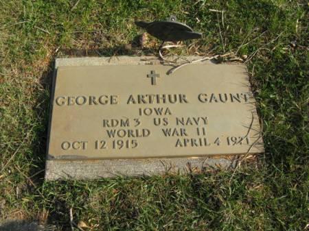 GAUNT, GEORGE ARTHUR - Story County, Iowa | GEORGE ARTHUR GAUNT