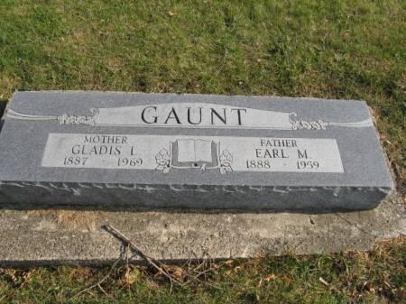 GAUNT, GLADIS L - Story County, Iowa | GLADIS L GAUNT