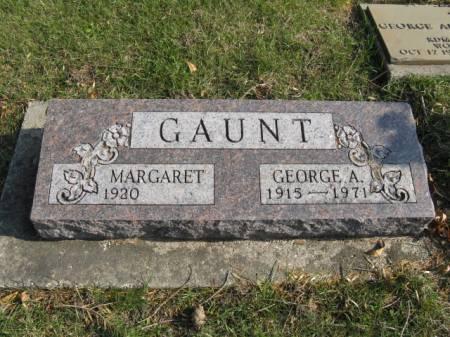 GAUNT, GEORGE A - Story County, Iowa | GEORGE A GAUNT