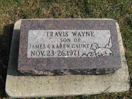 GAUNT, TRAVIS WAYNE - Story County, Iowa   TRAVIS WAYNE GAUNT