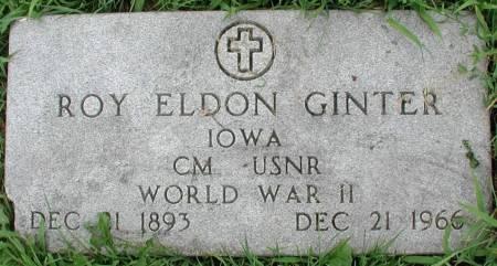 GINTER, ROY ELDON - Story County, Iowa | ROY ELDON GINTER