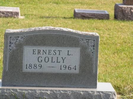 GOLLY, ERNEST L - Story County, Iowa   ERNEST L GOLLY