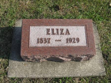GOLLY, ELIZA - Story County, Iowa   ELIZA GOLLY