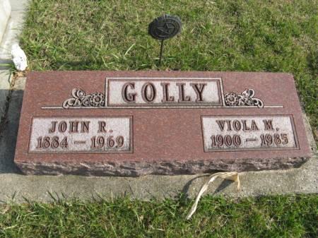 GOLLY, JOHN R - Story County, Iowa | JOHN R GOLLY