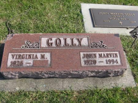 GOLLY, JOHN MARVIN - Story County, Iowa | JOHN MARVIN GOLLY