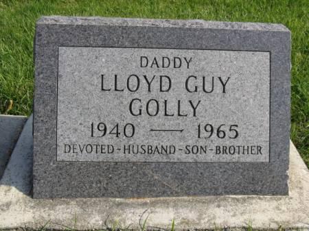 GOLLY, LLOYD GUY - Story County, Iowa   LLOYD GUY GOLLY