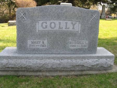 GOLLY, MARY I - Story County, Iowa   MARY I GOLLY