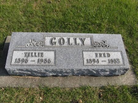 GOLLY, TILLIE - Story County, Iowa | TILLIE GOLLY