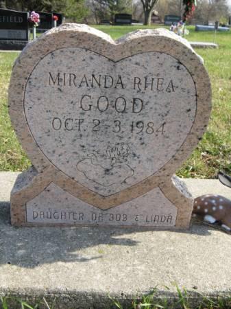 GOOD, MIRANDA RHEA - Story County, Iowa | MIRANDA RHEA GOOD