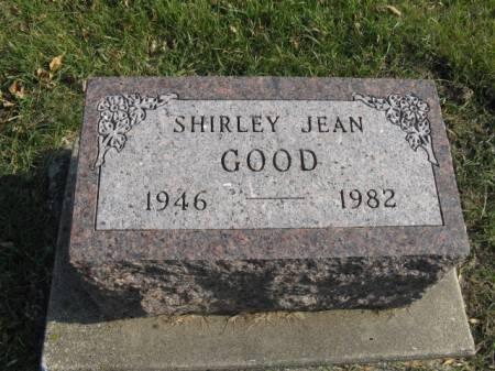 GOOD, SHIRLEY JEAN - Story County, Iowa   SHIRLEY JEAN GOOD
