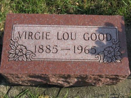 GOOD, VIRGIE LOU - Story County, Iowa   VIRGIE LOU GOOD