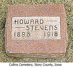 STEVENS, HOWARD - Story County, Iowa | HOWARD STEVENS