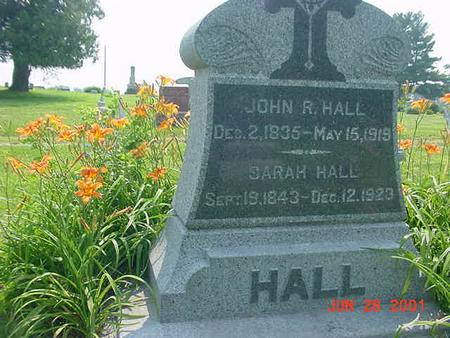 HALL, JOHN R. - Story County, Iowa | JOHN R. HALL