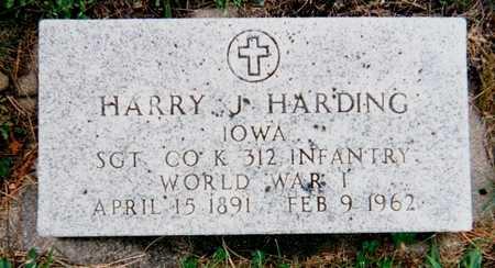 HARDING, HARRY J. - Story County, Iowa   HARRY J. HARDING