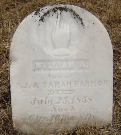 HARMON, WILLIAM A. - Story County, Iowa | WILLIAM A. HARMON
