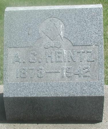 HEINTZ, A.C. - Story County, Iowa | A.C. HEINTZ