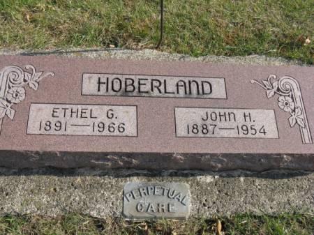 HOBERLAND, JOHN H - Story County, Iowa   JOHN H HOBERLAND