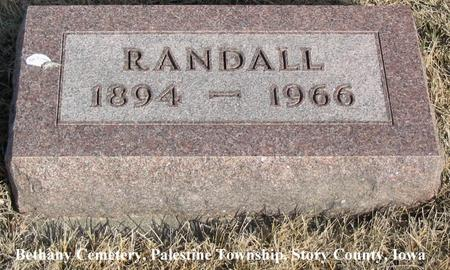 HOLLAND, RANDALL - Story County, Iowa | RANDALL HOLLAND