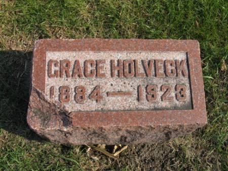 HOLVECK, GRACE - Story County, Iowa   GRACE HOLVECK