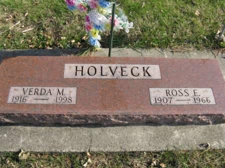 HOLVECK, VERDA M - Story County, Iowa | VERDA M HOLVECK