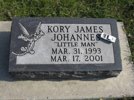 JOHANNES, KORY JAMES - Story County, Iowa   KORY JAMES JOHANNES
