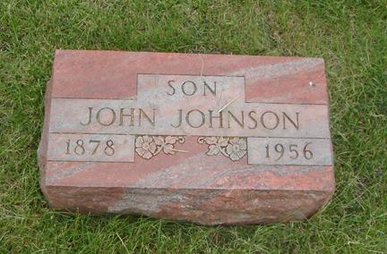 JOHNSON, JOHN - Story County, Iowa | JOHN JOHNSON
