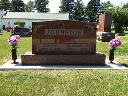 JOHNSTON, BLAYNEY - Story County, Iowa | BLAYNEY JOHNSTON
