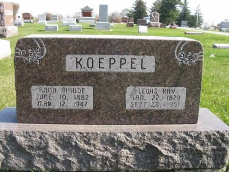 KOEPPEL, ANNA MAUDE - Story County, Iowa   ANNA MAUDE KOEPPEL