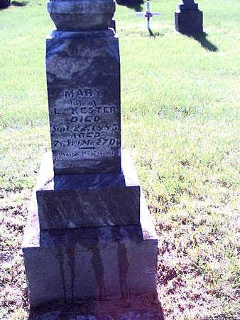 KESTER, MARY - Story County, Iowa | MARY KESTER