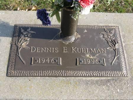 KUHLMAN, DENNIS E - Story County, Iowa | DENNIS E KUHLMAN