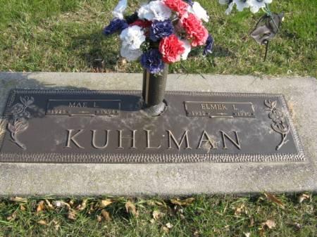 KUHLMAN, MAE L - Story County, Iowa | MAE L KUHLMAN