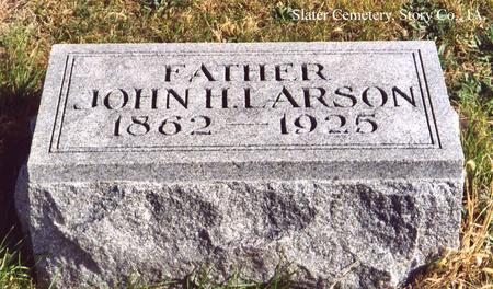 LARSON, JOHN H. - Story County, Iowa | JOHN H. LARSON