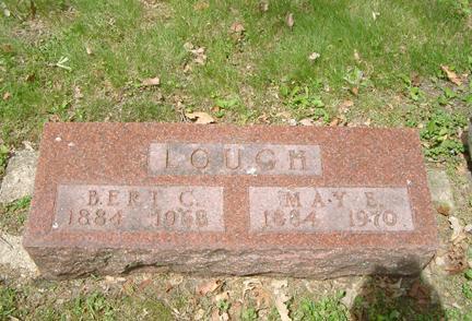 LOUGH, MAY E. - Story County, Iowa | MAY E. LOUGH