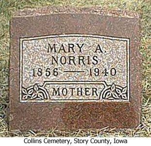 NORRIS, MARY A. - Story County, Iowa | MARY A. NORRIS
