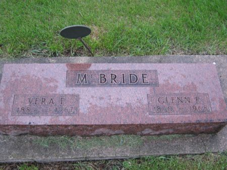 MCBRIDE, VERA FERN - Story County, Iowa   VERA FERN MCBRIDE