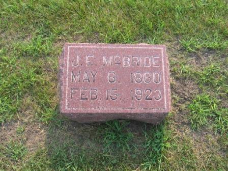 MCBRIDE, JACOB EDMUND - Story County, Iowa   JACOB EDMUND MCBRIDE