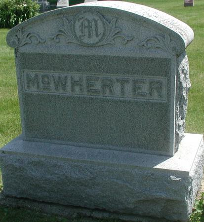 MCWHERTER, FAMILY - Story County, Iowa | FAMILY MCWHERTER