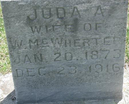 MCWHERTER, JUDA A. - Story County, Iowa | JUDA A. MCWHERTER