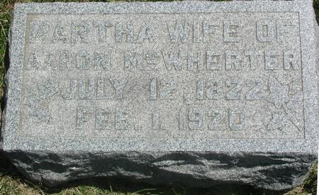 MCWHERTER, MARTHA - Story County, Iowa | MARTHA MCWHERTER