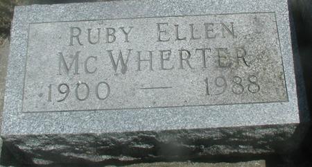 MCWHERTER, RUBY ELLEN - Story County, Iowa | RUBY ELLEN MCWHERTER