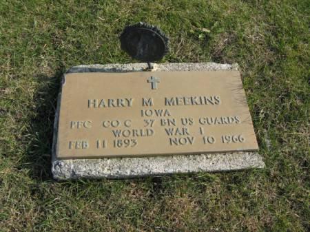 MEEKINS, HARRY M - Story County, Iowa | HARRY M MEEKINS