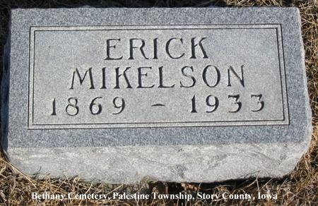 MIKELSON, ERICK - Story County, Iowa | ERICK MIKELSON
