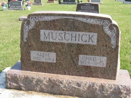 MUSCHICK, CHRIS G - Story County, Iowa   CHRIS G MUSCHICK
