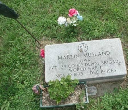 MUSLAND, MARTIN - Story County, Iowa | MARTIN MUSLAND
