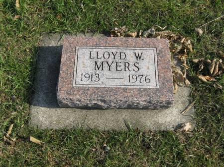 MYERS, LLOYD W - Story County, Iowa | LLOYD W MYERS