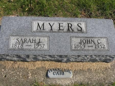 MYERS, JOHN C - Story County, Iowa   JOHN C MYERS